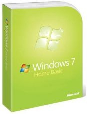Операционная система Microsoft Windows 7 Home Basic SP1 64-bit Russian 1–pk DSP OEI DVD